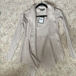 89th and Madison oatmeal heather cardigan